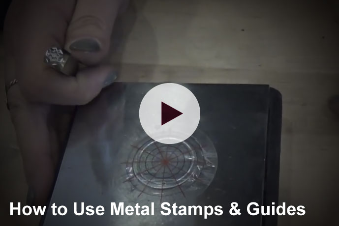 Video: How to use ImpressArt metal stamps and guides