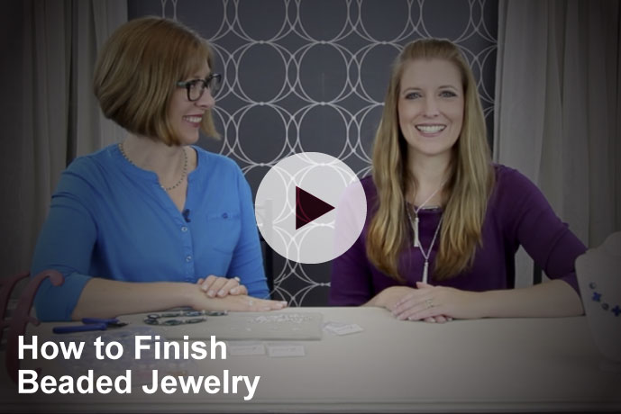 Video: How to Finish Beaded Jewelry